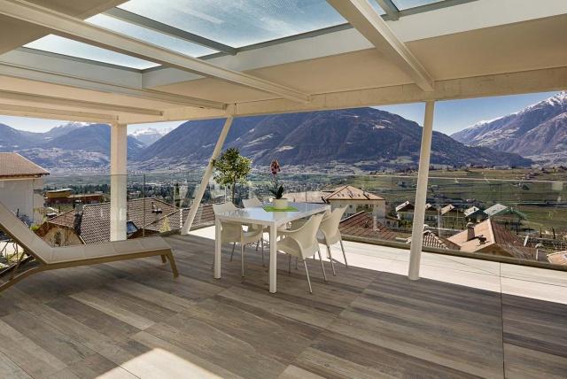 Sud Tirol SChenna Top Vakantie Appartement Met Prachtig Uitzicht