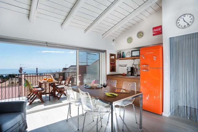 Taormina Sicilie Vakantie Appartement Historisch Centrum Met Zee Zicht 5