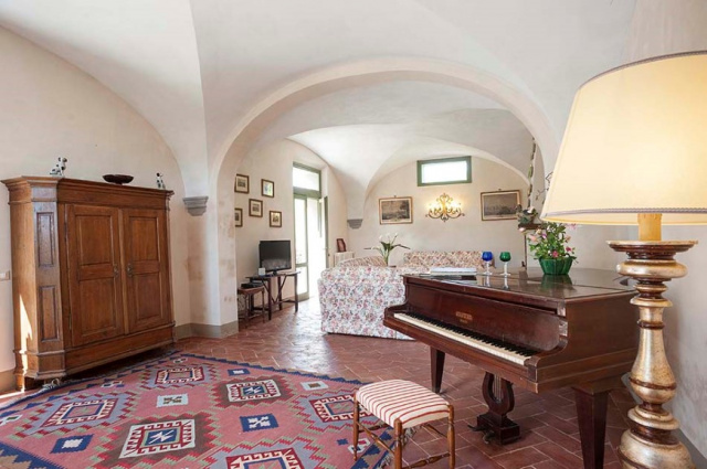 Toscane Villa Zwembad Tussen Pisa Florence 12