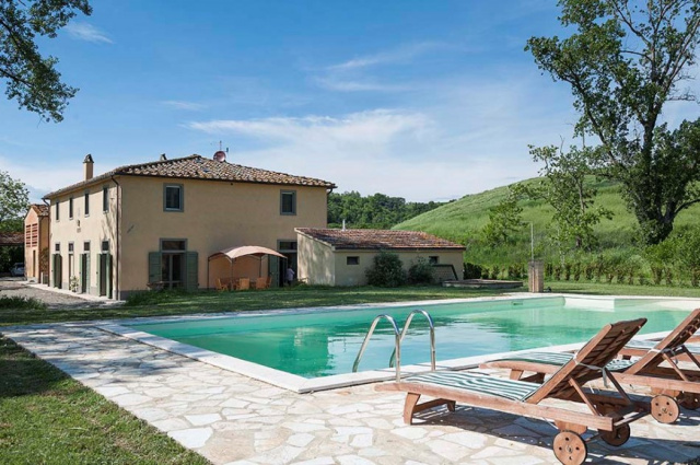 Toscane Villa Zwembad Tussen Pisa Florence 4