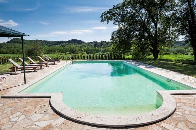 Toscane Villa Zwembad Tussen Pisa Florence 5