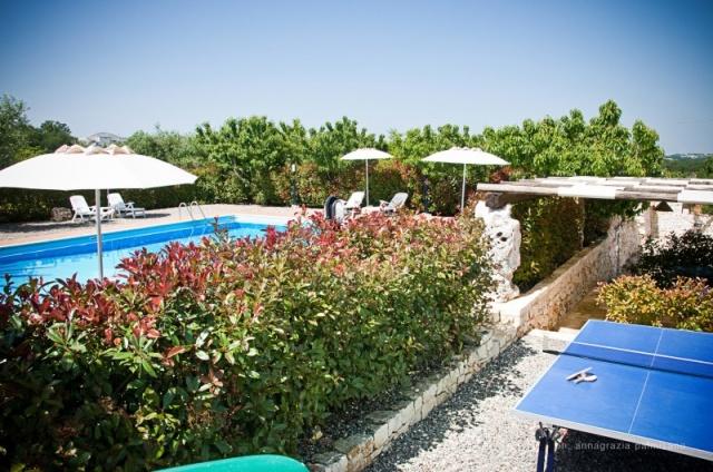 Trullo Op Klein Complex Met Zwembad Puglia 7