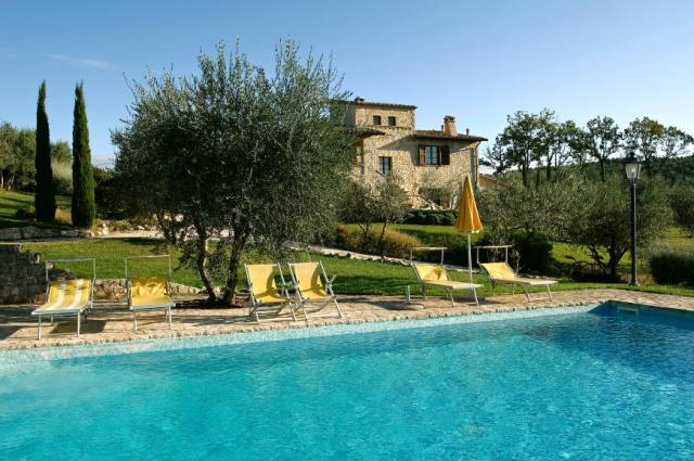 Umbrie Perugia Todi Villa Zwembad 1