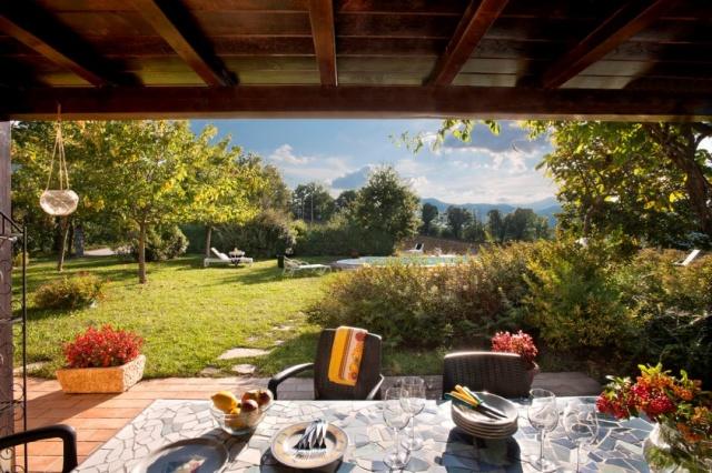 Vakantie Villa Le Marche Zwembad 10