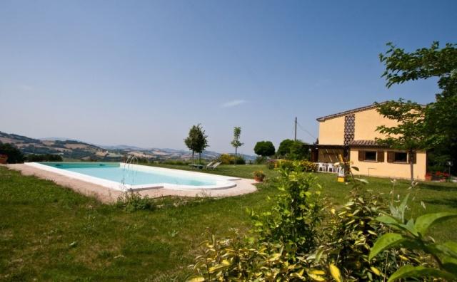 Vakantie Villa Le Marche Zwembad 29