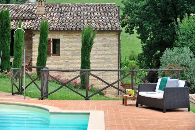 Villa 10 Personen Zuid Le Marche Zwembad 19