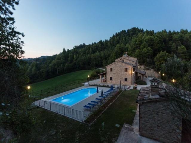 Villa Met Zwembad Voor 11p In Montelparo Le Marche 23