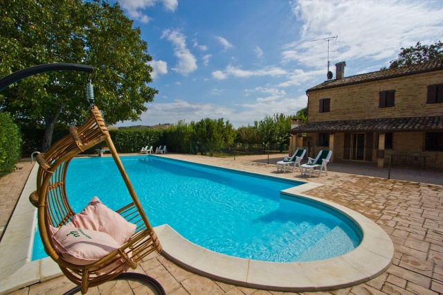 Villa Met Zwembad Voor 6p Macerata Le Marche 4