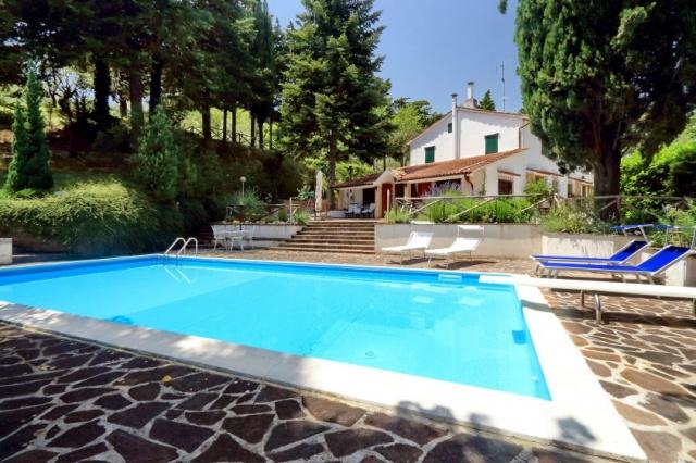 Vrijstaand Vakantiehuis Zwembad Le Marche 25