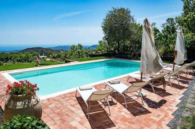 Vrijstaande Vakantiewoning Natuurpark Etna Sicilie 8a