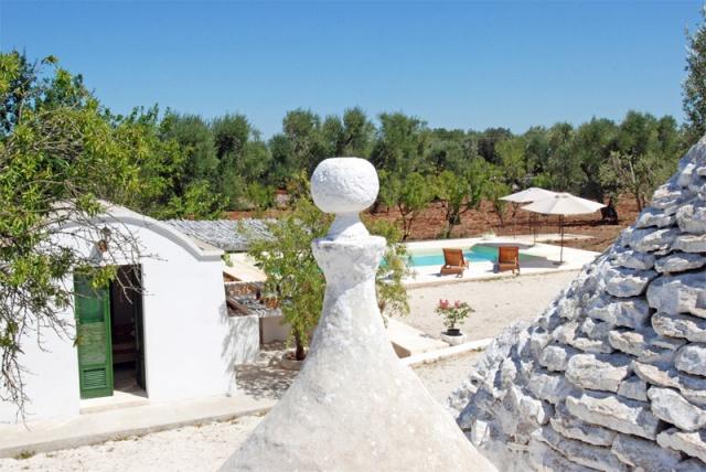 Vrijstaande Trullo Voor 8 P In Puglia 4