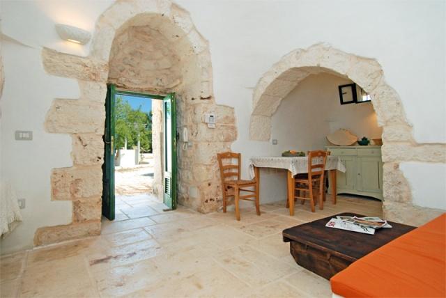 Vrijstaande Trullo Voor 8 P In Puglia 7