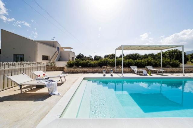 Zeer Luxe Villa Zwembad Zee Sicilie 3