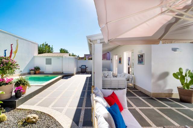 Zuid Oost Sicilie Villa 150m Van Zee 10