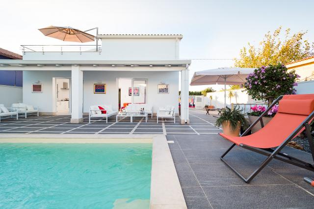 Zuid Oost Sicilie Villa 150m Van Zee 12