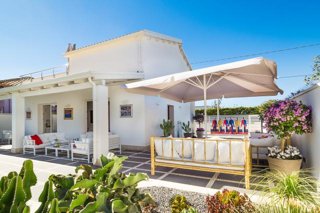 Zuid Oost Sicilie Villa 150m Van Zee 8