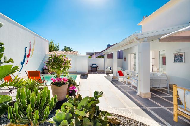 Zuid Oost Sicilie Villa 150m Van Zee 9