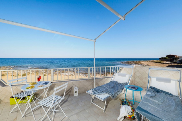 Zuid Sicilie Appartement Direct Aan Zee En Strand 4