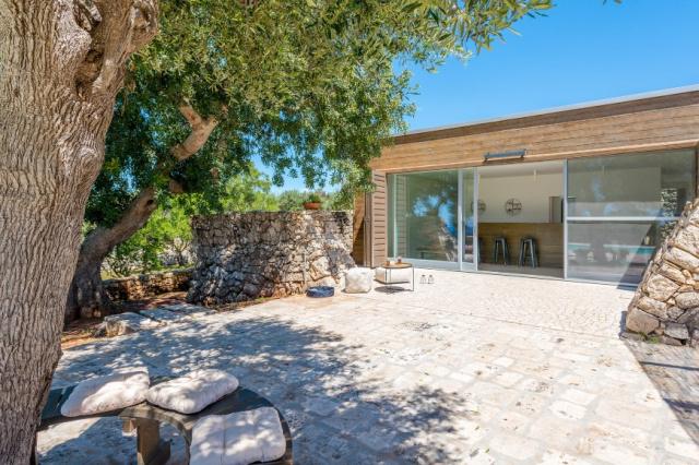 Zuid Puglia Leuca Villa 4 Km Van Zee 10