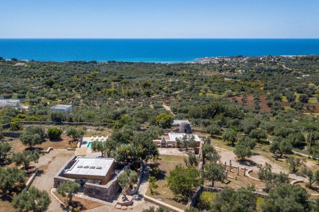 Zuid Puglia Leuca Villa 4 Km Van Zee 3