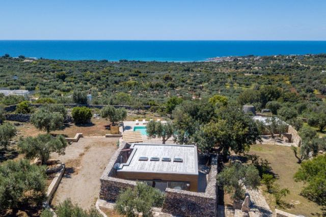 Zuid Puglia Leuca Villa 4 Km Van Zee 4