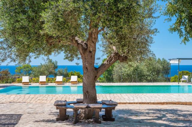 Zuid Puglia Leuca Villa 4 Km Van Zee 6