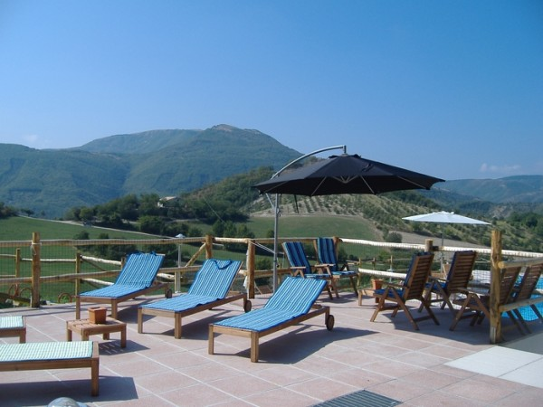 Zwembad Agriturismo Le Marche 15