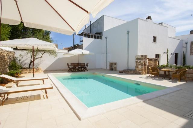 App Salento Gedeeld En Verwarmd Zwembad Puglia 1