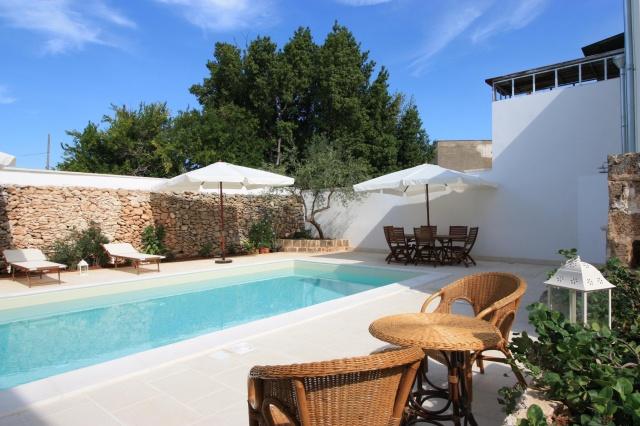 App Salento Gedeeld En Verwarmd Zwembad Puglia 2