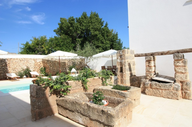 App Salento Gedeeld En Verwarmd Zwembad Puglia 4