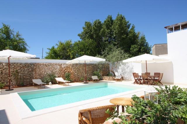 App Salento Gedeeld En Verwarmd Zwembad Puglia 5