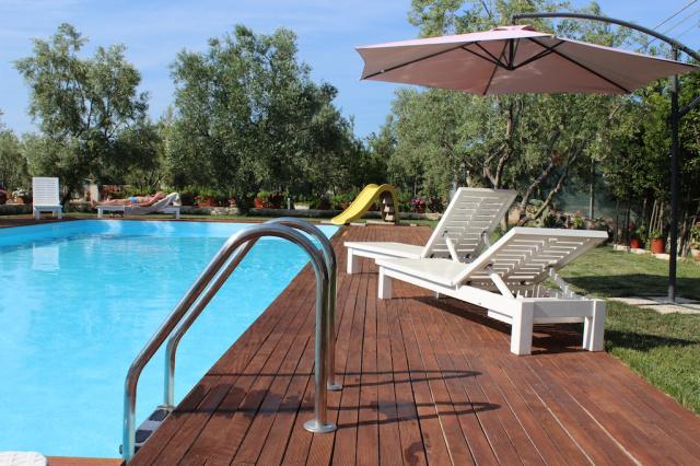 Gargano Vieste Agriturismo Met Zwembad En Manege Aan De Kust 2