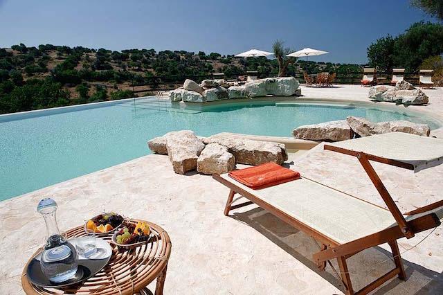 Landgoed Vakantie Accommodatie Ragus Met Gedeeld Zwembad 2