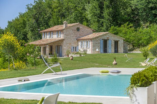 Le Marche Top Vakantie Villa Luxe Ingericht Met Zwembad 9