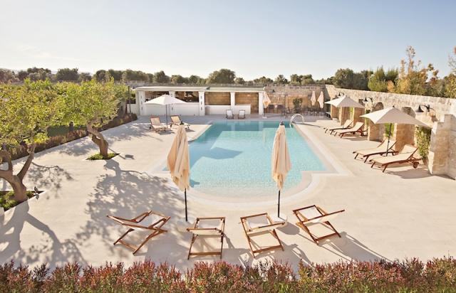 Luxe App Met  Gedeeld Zwembad Aan De Kust Zuid Puglia 10