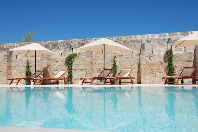 Luxe App Met  Gedeeld Zwembad Aan De Kust Zuid Puglia 12