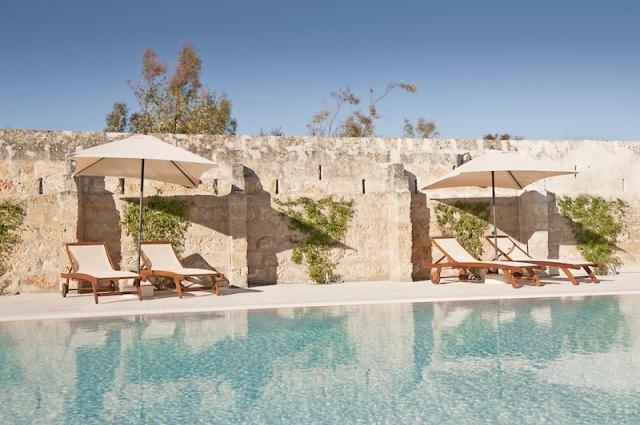 Luxe App Met  Gedeeld Zwembad Aan De Kust Zuid Puglia 3