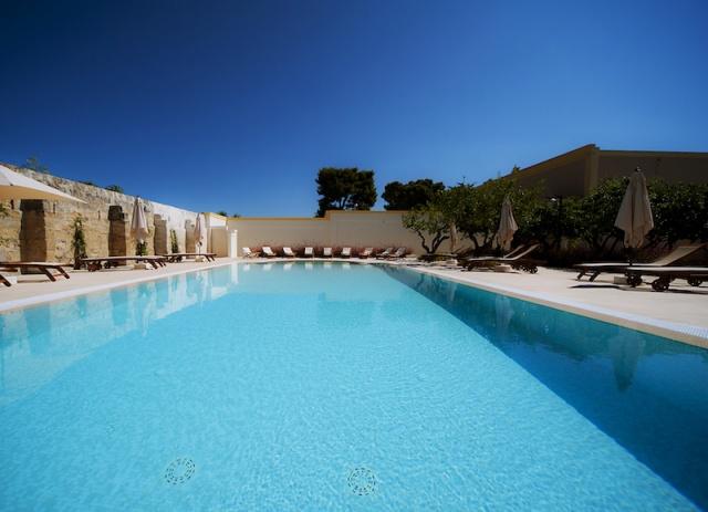 Luxe App Met  Gedeeld Zwembad Aan De Kust Zuid Puglia 5