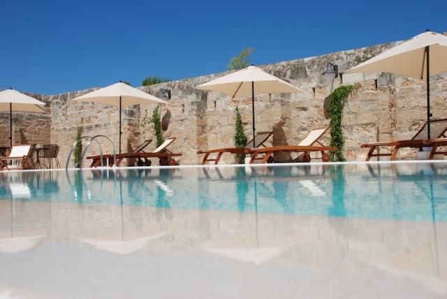 Luxe App Met  Gedeeld Zwembad Aan De Kust Zuid Puglia 7
