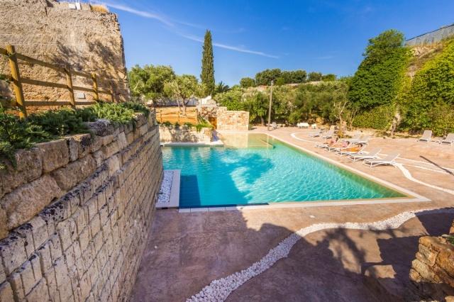 Monolocale App Vakantiepark Met Zwembad Lecce 21