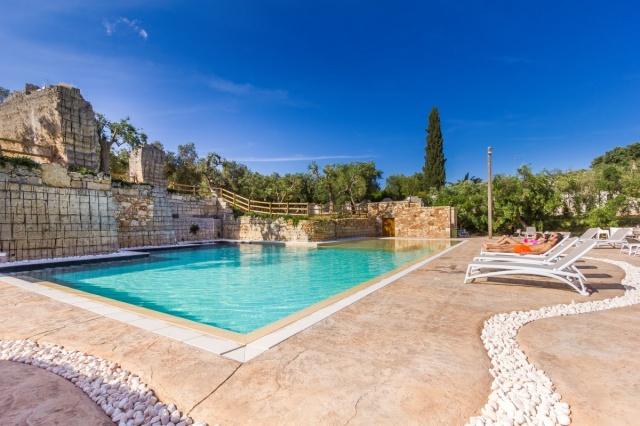 Monolocale App Vakantiepark Met Zwembad Lecce 5