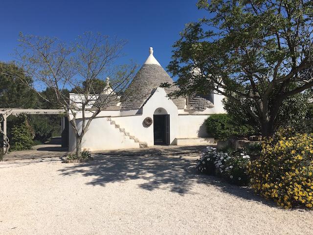Ostuni Trullo Vakantiehuis Met Zwembad En Uitzicht 8
