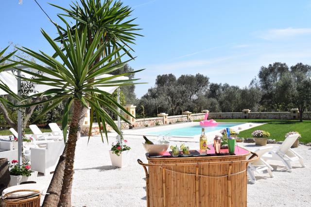 Puglia Trullo Vrijstaand Met Eigen Zwembad Voor 6 Personen 12