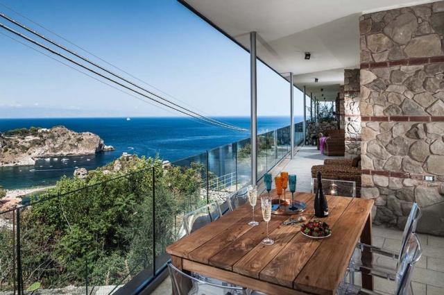 Sicilie Taormina Luxe Vakantieappartementen Met Zeezicht En Zwembad 2