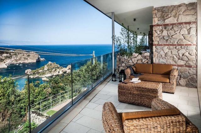 Sicilie Taormina Luxe Vakantieappartementen Met Zeezicht En Zwembad 4