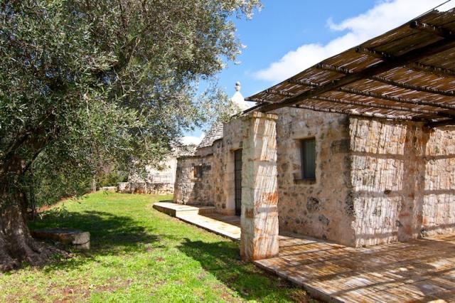 Trulli Lamie Met Gedeeld Zwembad Istria Vallei Puglia Zuid Italie 6b