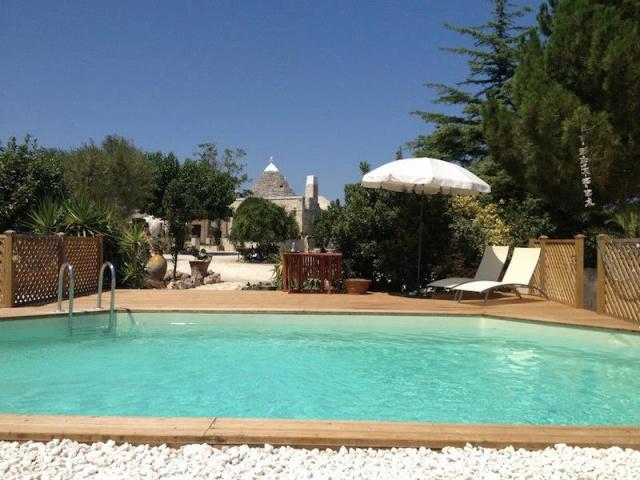 Trullo Vakantiecomplex Met Zwembad Jacuzzi Alberobello Puglia 1