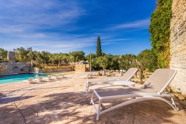 Vakantiepark Salento Lecce Zwembad 12