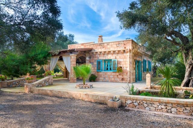 Villa Met Overdekte Veranda En Zwembad Bij Otranto 26