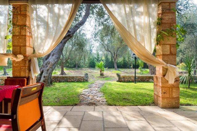 Villa Met Overdekte Veranda En Zwembad Bij Otranto 27